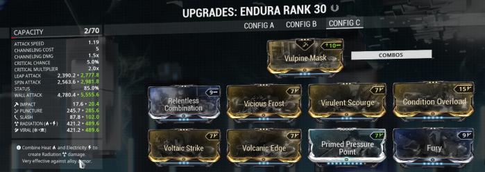 Endura Cheap Build