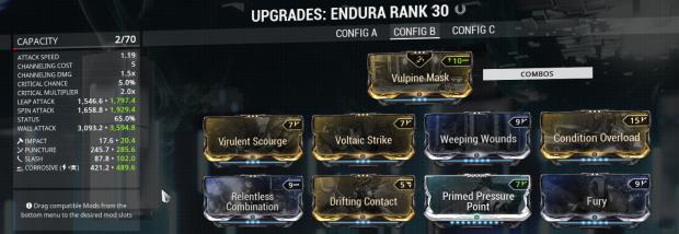 Endura Corrosive Build