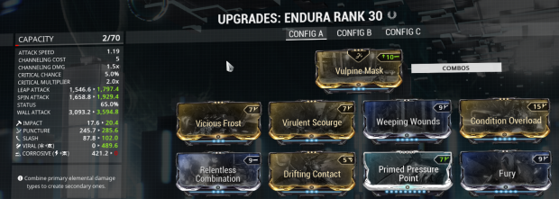 Endura Viral Build