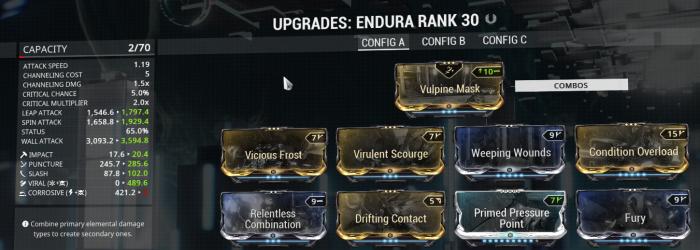 Endura Viral Build