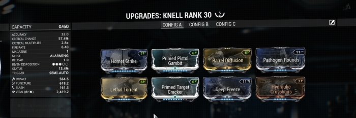 knell updated build
