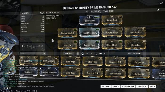 Trinity Bless Build